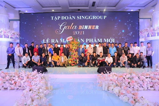 """Gala Dinner Singhal Group """"Lễ ra mắt sản phẩm mới và tri ân các nhà phân phối"""""""