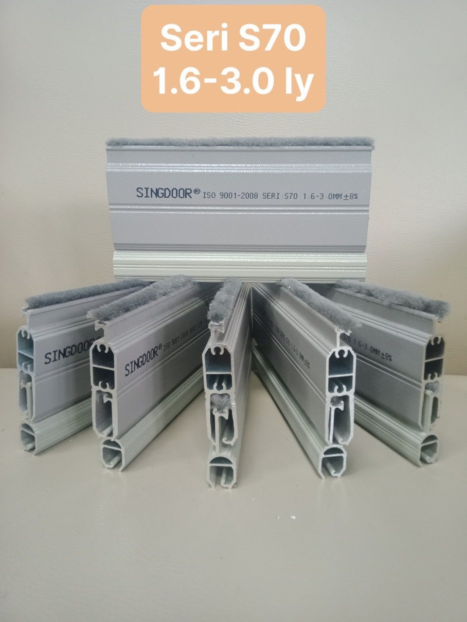 Cửa cuốn khe thoáng Singdoor S70